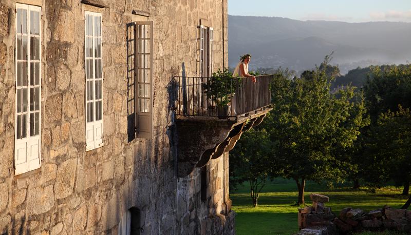 Atardecer en el balcón