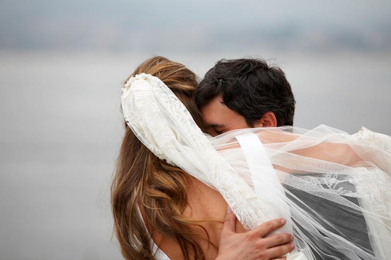 Reportaje de boda en el parador de Bayona