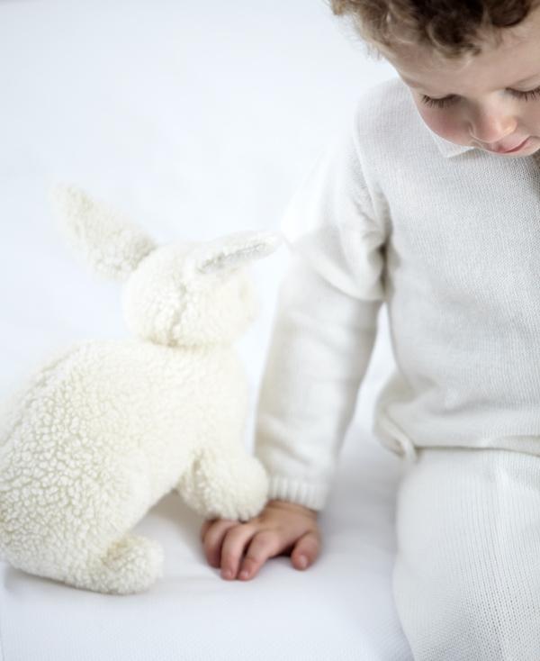 Niño con mascota